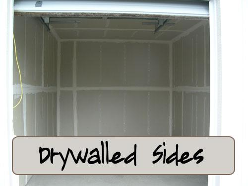 Diamond Point Storage Drywalled Sides