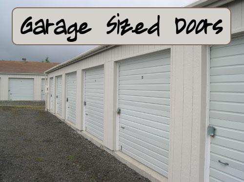 Diamond Point Storage Garage Sized Doors